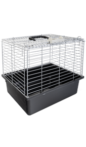 Wire Topped Cat Carry Cage