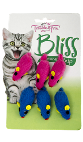 Bliss Mice Cat Toys - 6 Pack