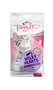 Cat Treats - Milky Hearts