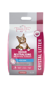 Crystal Cat Litter - Anti Bacterial