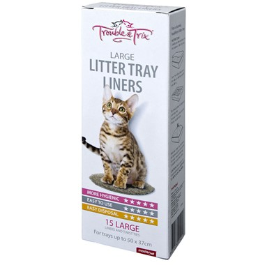 Cat Litters Liners - Regular and Large