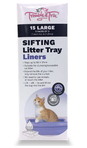 Easyclean Sifting Litter Tray Liners
